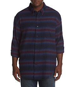 John Bartlett Consensus Men's Big & Tall Button Down Flannel