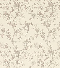 Laura Ashley® Summer Palace Dove Grey Wallpaper