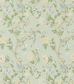 Laura Ashley® Summer Palace Eau de Nil Wallpaper