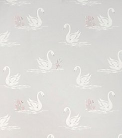 Laura Ashley® Swans Silver Wallpaper