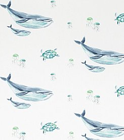 Laura Ashley® Whales Wallpaper