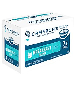 Cameron's Specialty Coffee Breakfast Blend 72-ct. Single Serve Coffee Pods Value Pack