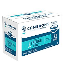 Cameron's Specialty Coffee 72-ct. French Roast Single Serve Coffee Pods Value Pack