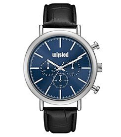 Unlisted by Kenneth Cole Men's Strap With Blue Dial Wach