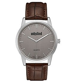 Unlisted by Kenneth Cole® Men's Analog Watch