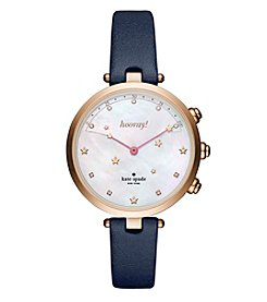 kate spade new york® Leather Holland Hybrid Smart Watch