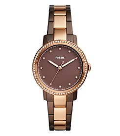 Fossil® Women's 35mm Neely Three Hand Stainless Steel Watch