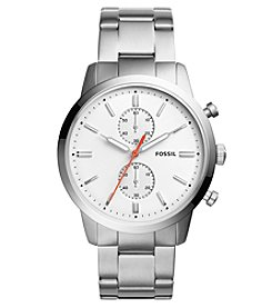 Fossil® Townsman 44mm Chronograph Stainless Steel Watch