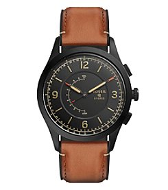 Fossil® Hybrid Smartwatch - Q Activist Leather
