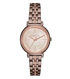 Michael Kors Cinthia Three Hand Watch