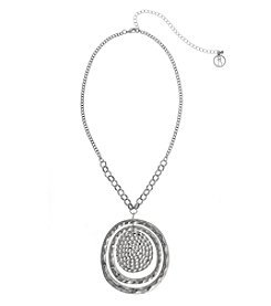 Erica Lyons® Extended Sizes Pendant Necklace