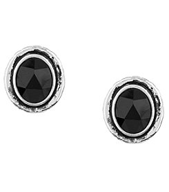 The Sak® Silvertone Resin Stud Earrings
