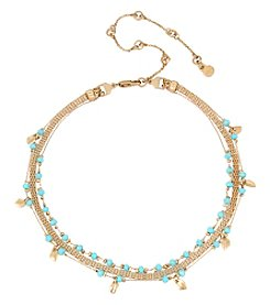 Kenneth Cole® Delicate Triple Chain Choker Necklace