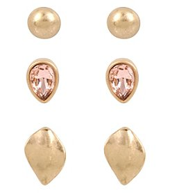 Kenneth Cole® Delicate Earring Set