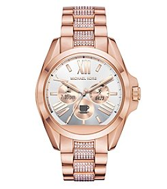 Michael Kors® Bradshaw Touchscreen And Pave Smartwatch