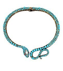 Betsey Johnson® Snake Collar Necklace