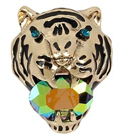 Betsey Johnson® Tiger Statement Ring