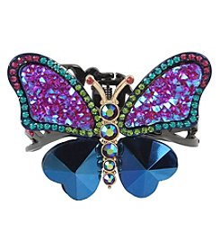 Betsey Johnson® Colorful Butterfly Cuff