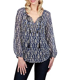 Lucky Brand® Peasant Blouse