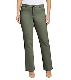 Bandolino® Plus Size Mandie Updated Back Pocket Jeans