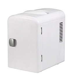 Gourmia Thermoelectric 6-Can Mini Fridge Cooler & Warmer