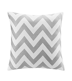 Intelligent Design Chevron Square Pillow