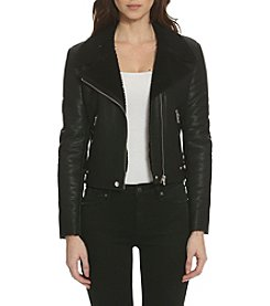 Vigoss Shearling Moto Jacket