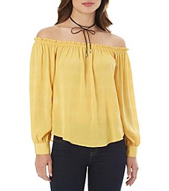 A. Byer Off-Shoulder Top