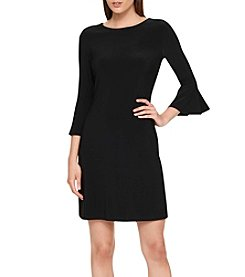 Tommy Hilfiger® Matte Jersey Dress With Flared Sleeve