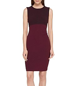 Tommy Hilfiger® Colorblock Crepe Scuba Dress