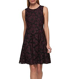 Tommy Hilfiger® Fit and Flare Lace Dress