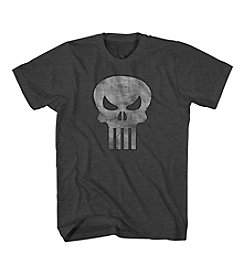 Mad Engine Men's Big & Tall Men's Punisher Logo Tee
