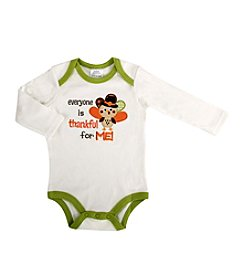 Cuddle Bear® Baby Long Sleeve Turkey Creeper