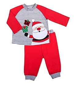 Cuddle Bear® Baby Boys' 2 Piece Santa Pants Set