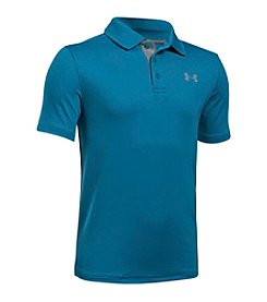 Under Armour® Boys' 8-20 Short Sleeve Performance Polo