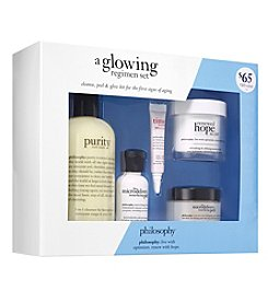 philosophy® A Glowing Regimen Set ($105 value)