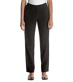 Briggs New York® Solid Fly Front Pants