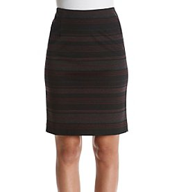 Nine West® Bordeau Stripe Skirt