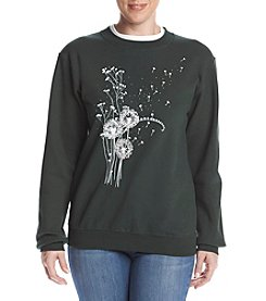 Morning Sun® Petites' Sparkling Dandelions Fleece