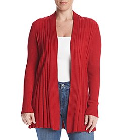Studio Works® Petites' Long Sleve Open Front Cardigan