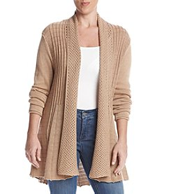 Studio Works® Petites' Long Sleeve Open Front Cardigan