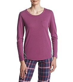 Cuddl Duds® Front Pocket Top