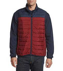 John Bartlett Consensus Colorblock Puffer Vest
