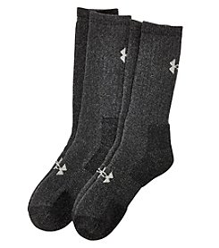 Under Armour® Men's Charged Wool Boot Socks 2-Pack