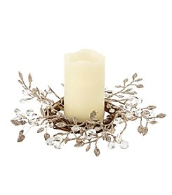 Order Home Collection Shimmer Leaf Centerpiece