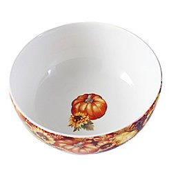 Living Quarters Harvest Serving Bowl