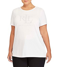 Lauren Ralph Lauren® Kaitlin Short Sleeve Knit Top