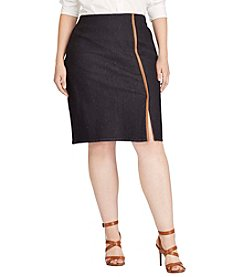 Lauren Ralph Lauren® Plus Size Kihana Straight Skirt