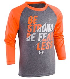 Under Armour® Boys' 4-7 Long Sleeve Be Strong Be Fearless Tee
