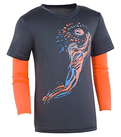 Under Armour® Boys' 4-7 Long Sleeve Illuminated Tee